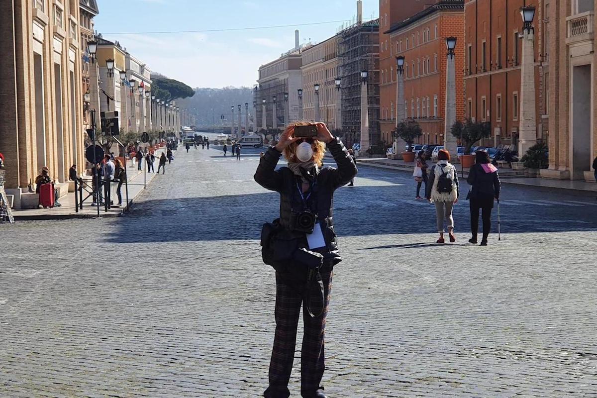 Italia ha tomado medidas restrictivas para prevenir el contagio del coronavirus. Foto: Deborah Castellano/ZENIT