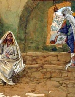 El encuentro de Jesús con la samaritana, y su relación con el Bautismo