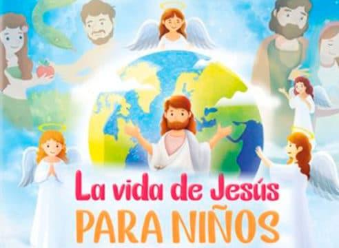 La vida de Jesús para niños en un libro digital
