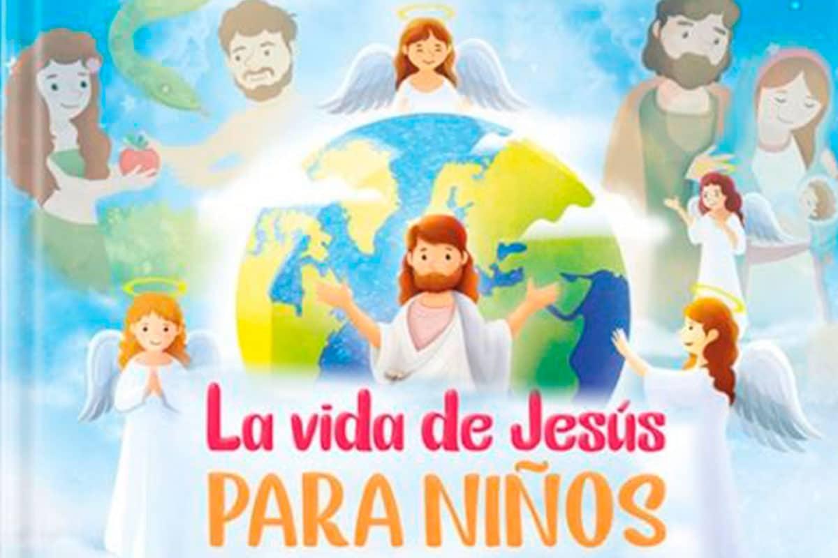 Libro digital de la Vida de Jesús para Niños. Foto: Cortesía p. Humberto Pro