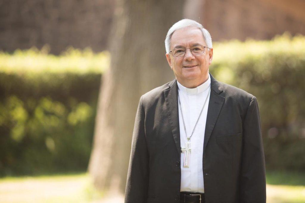 Daniel Rivera Sánchez, Obispo Auxiliar de la Arquidiócesis de México. Foto: María Langarica