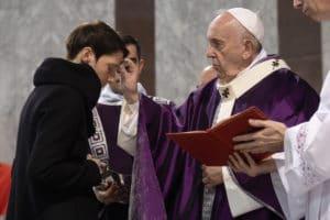 El Papa Francisco en su mensaje de Cuaresma 2020. Foto: LOR