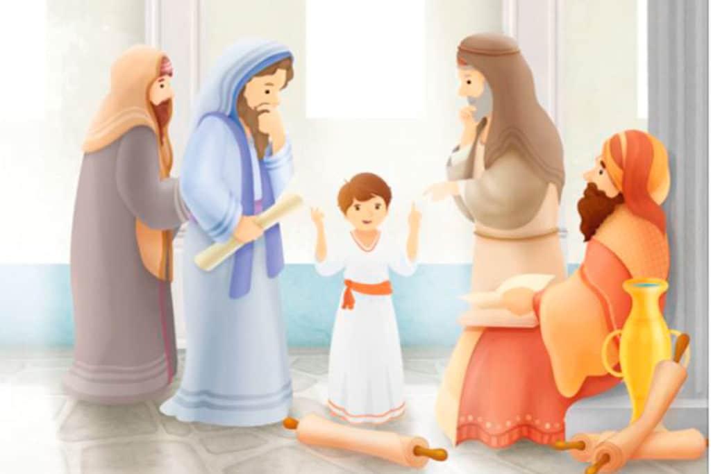 La vida de Jesús para niños. Foto Cortesía P. Humberto Pro