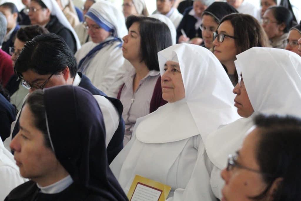 Religiosas de la Arquidiócesis de México. Foto: Miguel Ávila