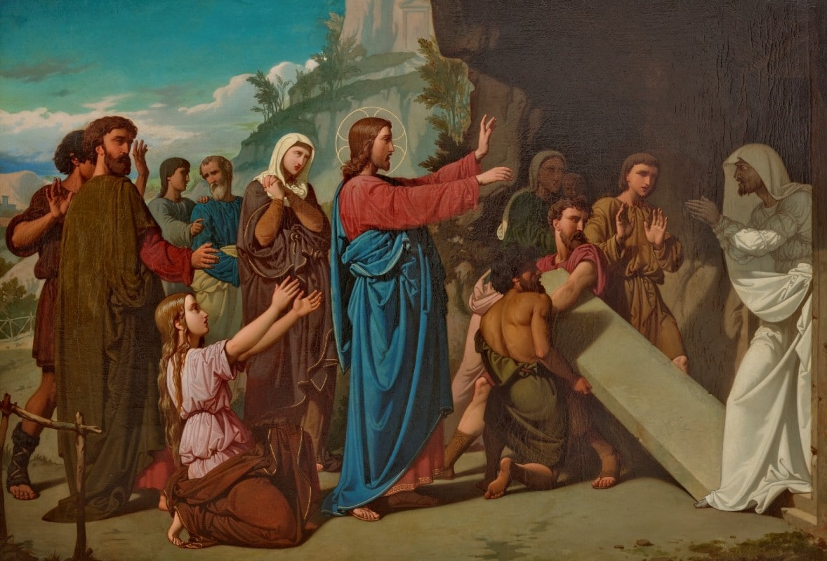 Resurrección de Lázaro.