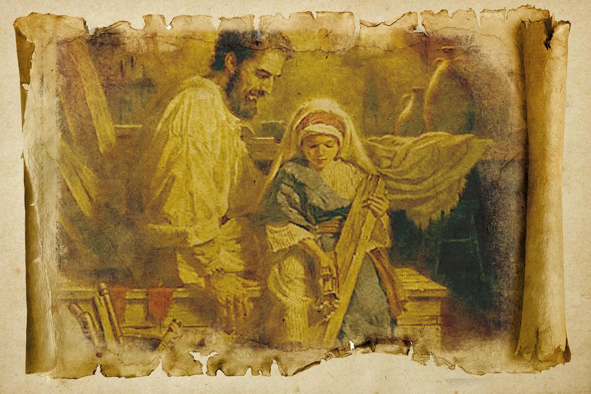 San José educó a Jesús con amor y respeto. Foto Especial