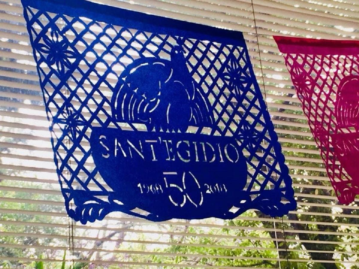 La comunidad de Sant'Egidio es un movimiento laico internacional que ayuda a personas en situación de pobreza. Foto: Sant'Egidio México/Facebook.