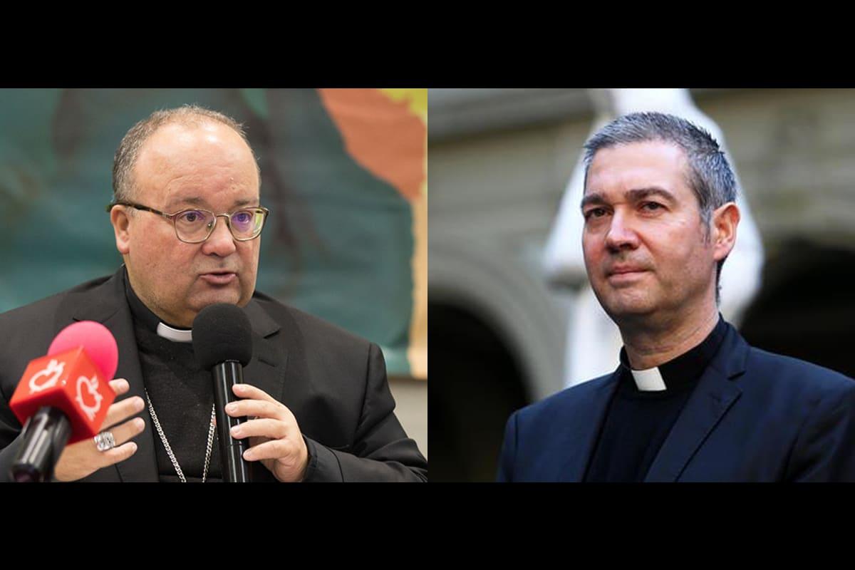 Monseñor Charles Scicluna y Monseñor Jordi Bertomeu.