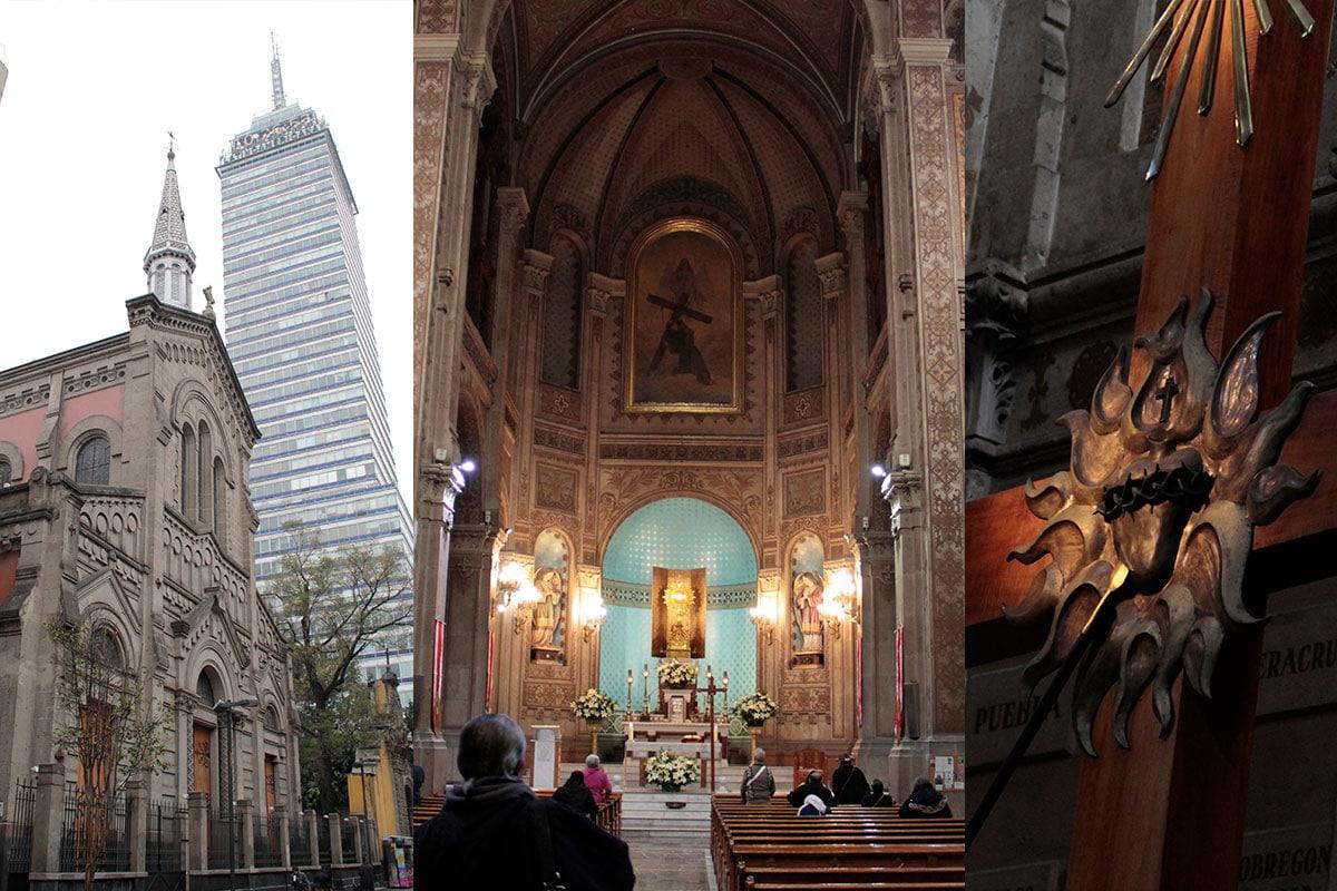 Los Misioneros del Espíritu Santo administran este templo que está en la calle Madero. Foto Alex García