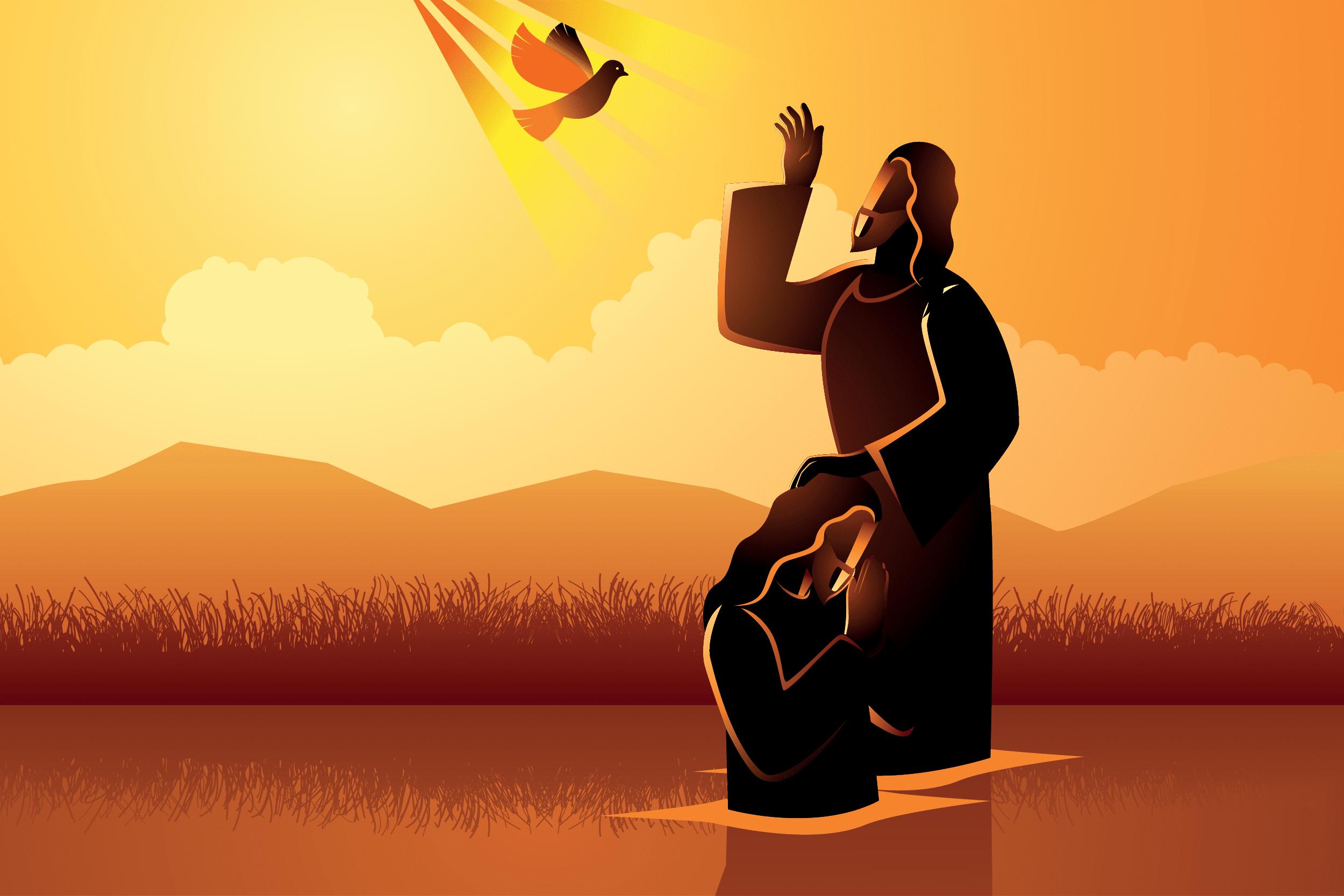 El Bautismo de Jesús en el Jordán