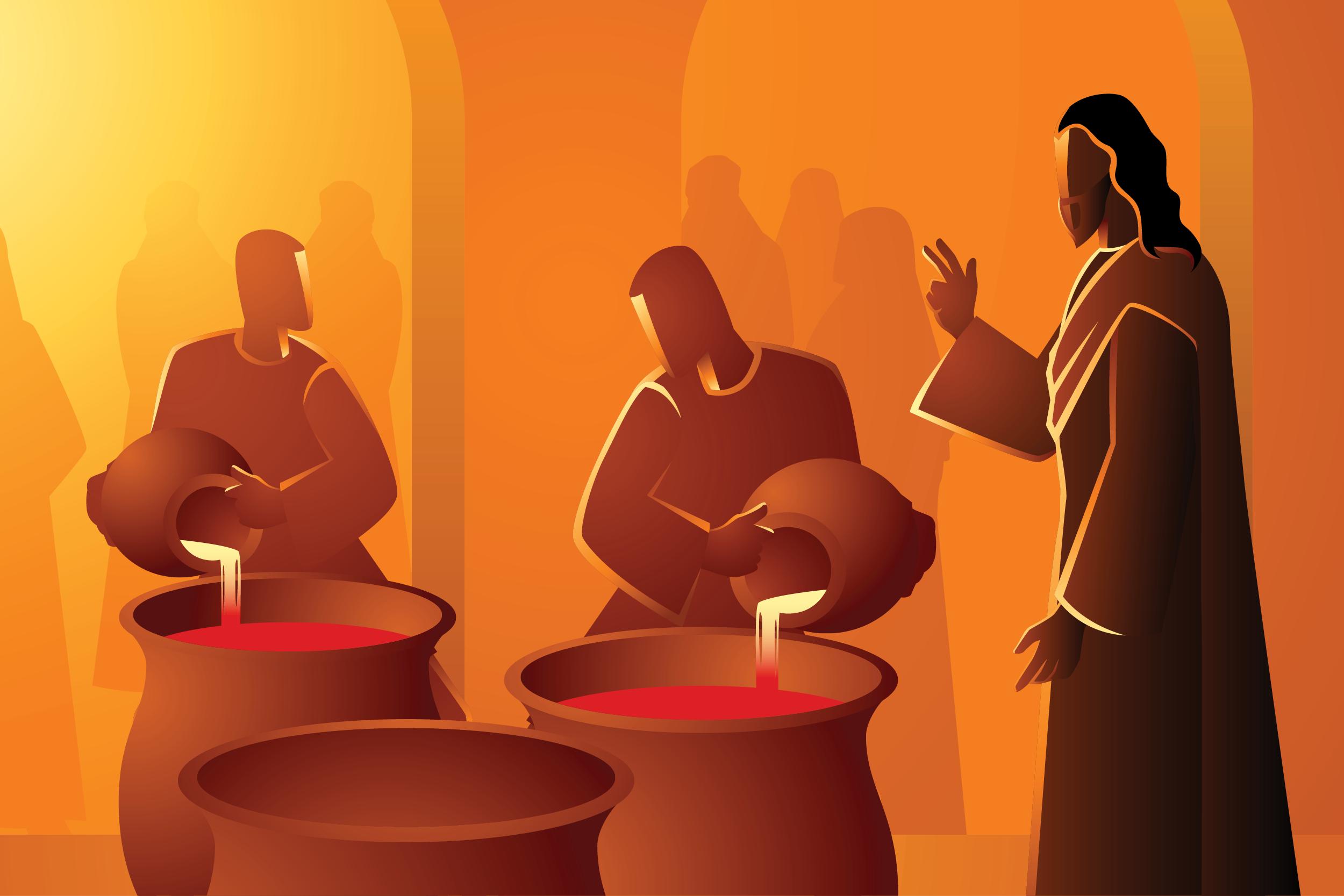 La autorrevelación de Jesús en las bodas de Caná