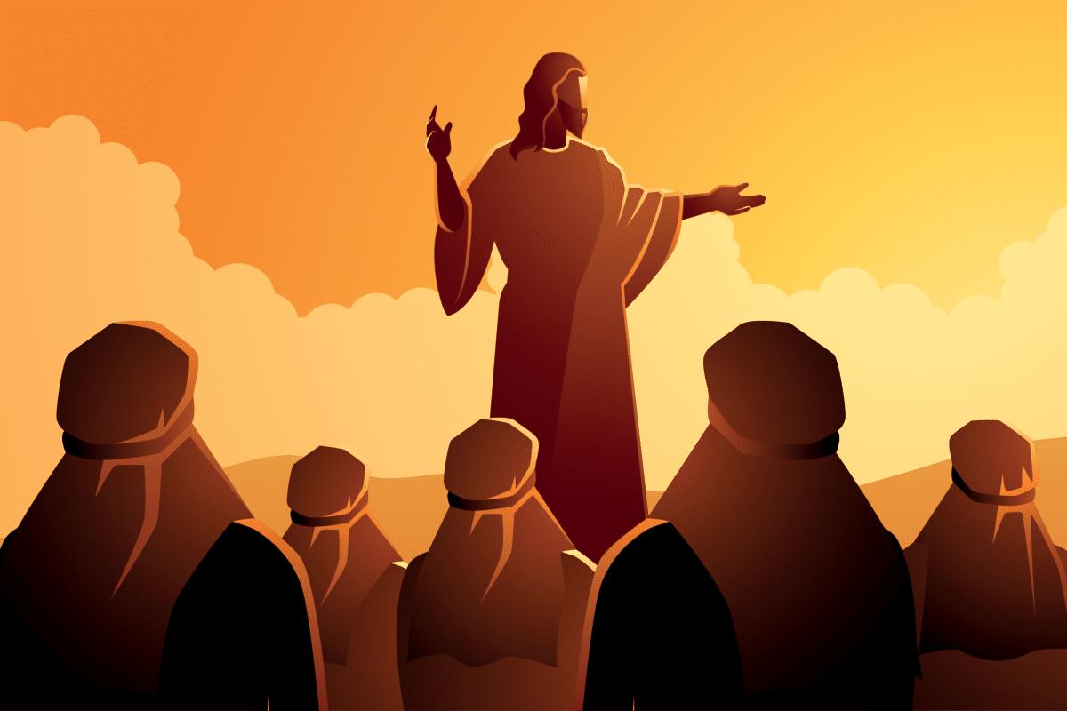 El anuncio del Reino de Dios. Ilustración: Martín Cuéllar.