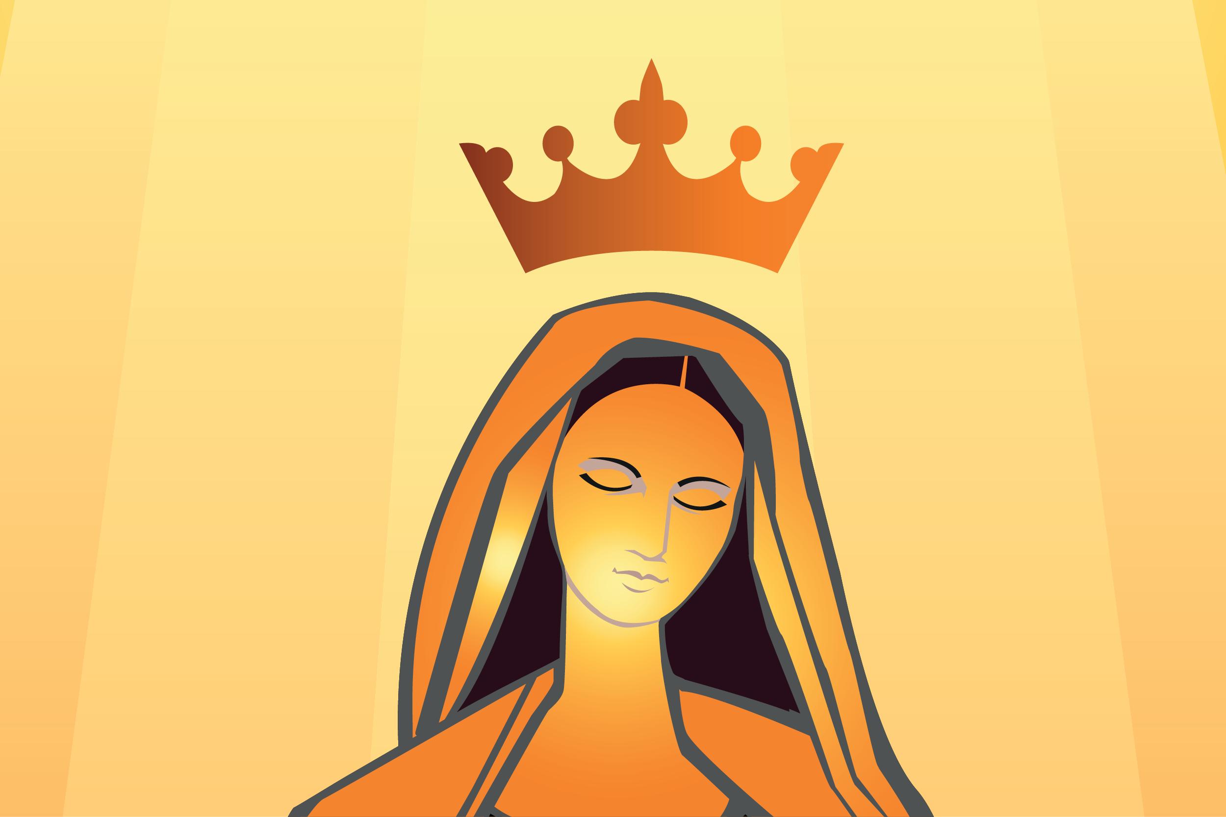 La Coronación de María como Reina de Cielo y Tierra