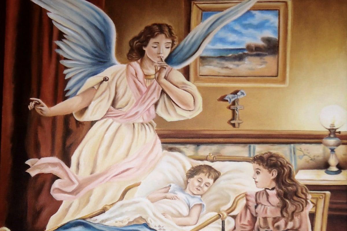La oración al ángel de la guarda puede realizarse a diario.