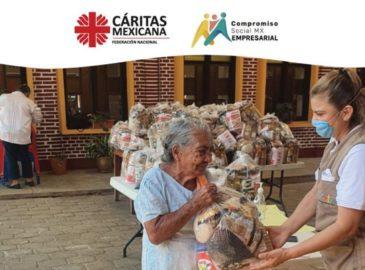 Iglesia en México dona 100 mil despensas a familias en crisis por COVID