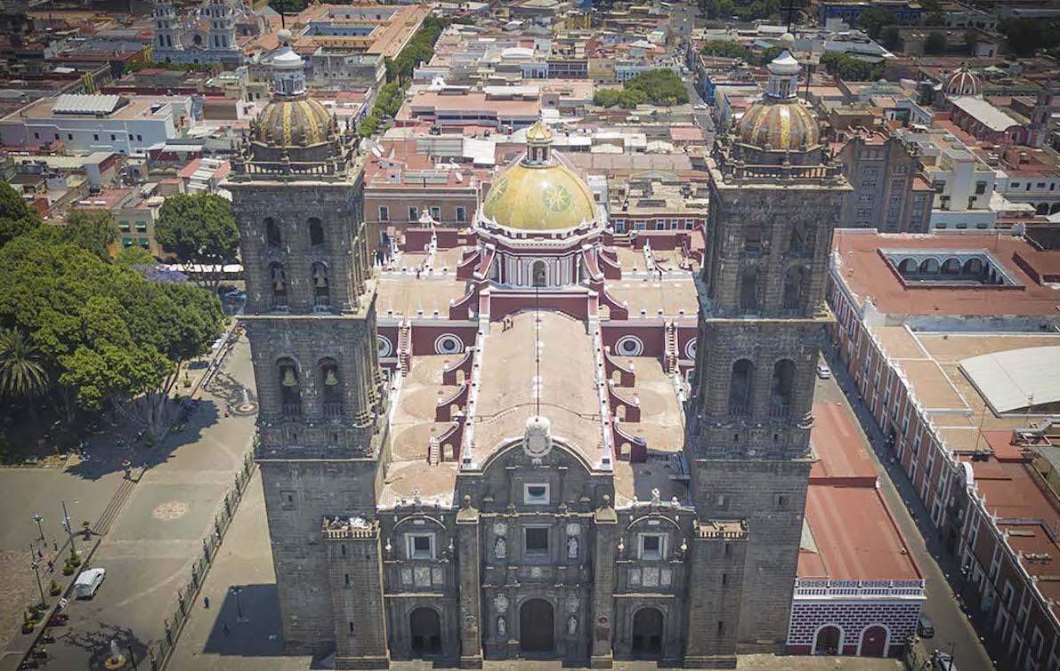 Catedral de Puebla / Foto: Juan Carlos Sánchez Díaz