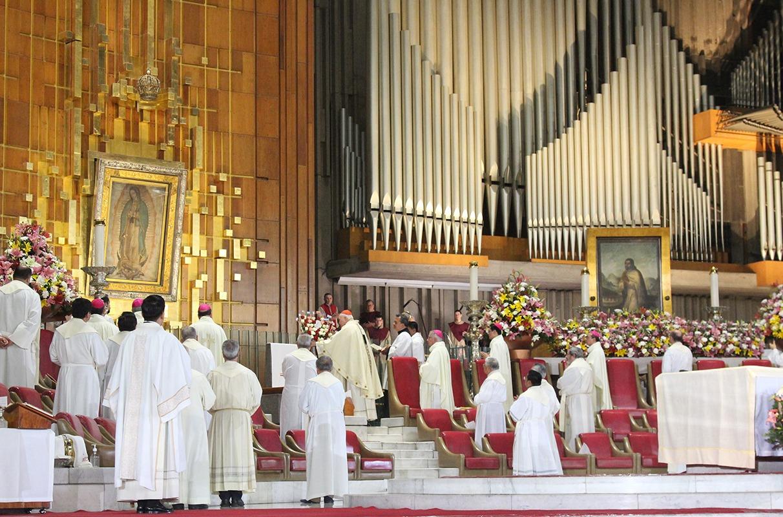 CAmérica Latina y el Caribe se consagraron a la Virgen de Guadalupe. El acto de consagración se hizo en la Basílica de Guadalupe. Foto: INBG/Cortesía.