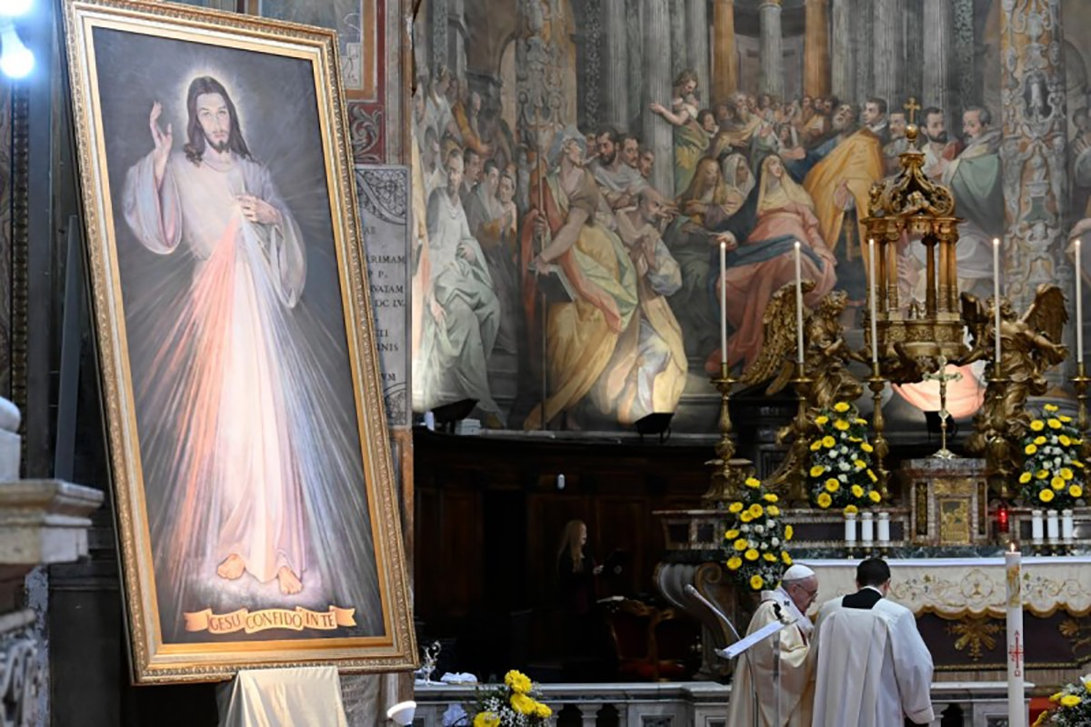 La Iglesia del Espíritu Santo es el Santuario de la Divina Misericordia en Roma. Foto: Vatican Media.