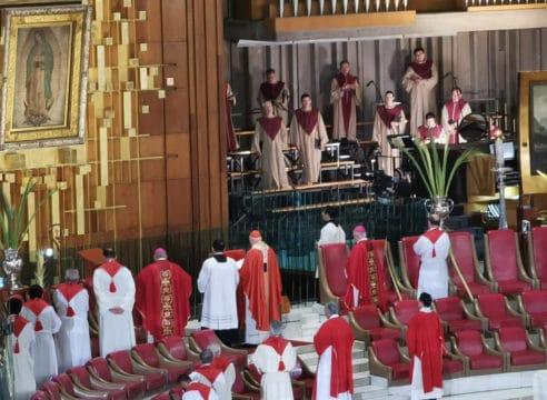 Arzobispo Aguiar: Un Domingo de Ramos unidos con toda la Iglesia
