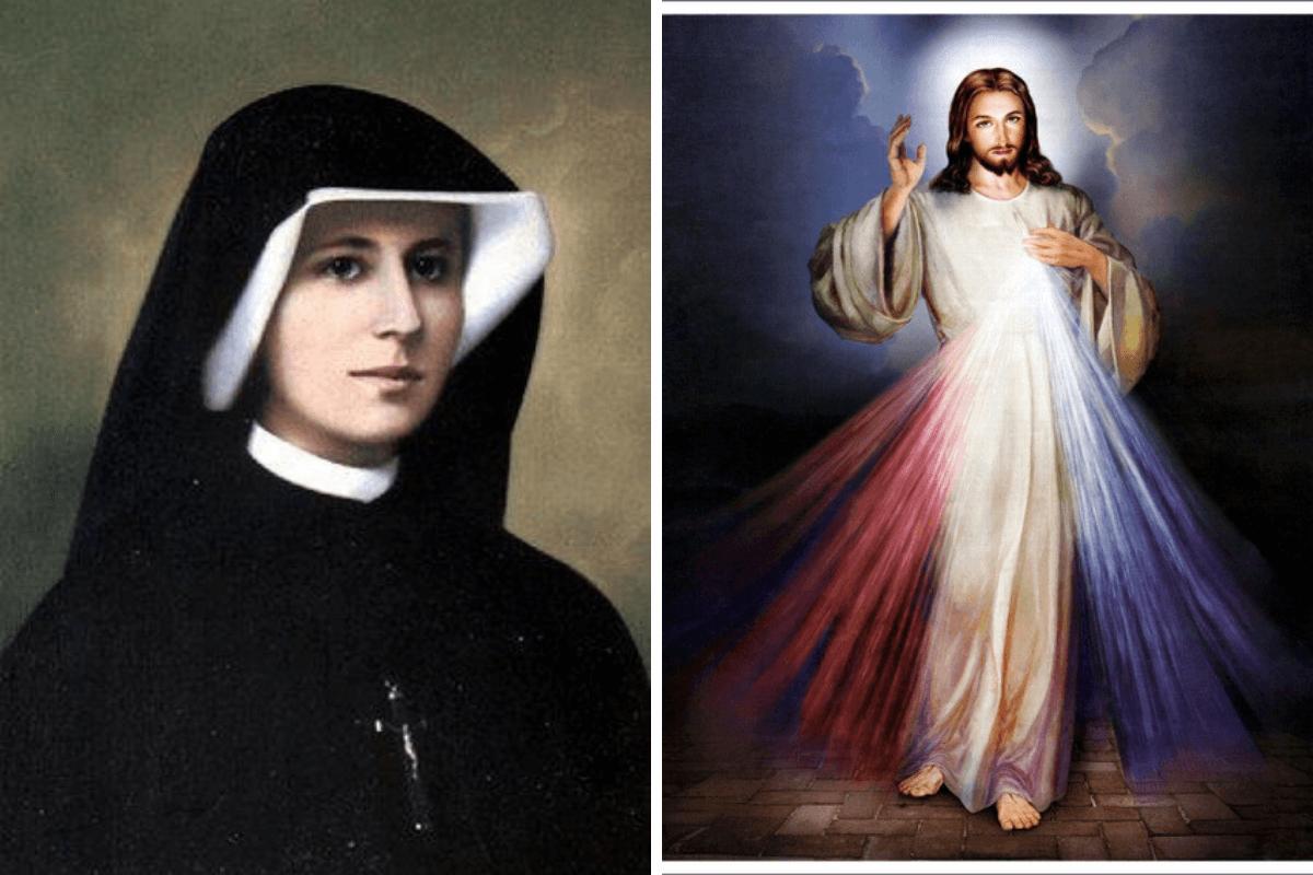 Santa Faustina escribió un diario con las revelaciones que le hizo Jesús. Foto Especial.