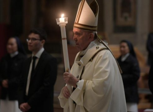 Semana Santa 2021: Horarios de las celebraciones del Papa Francisco