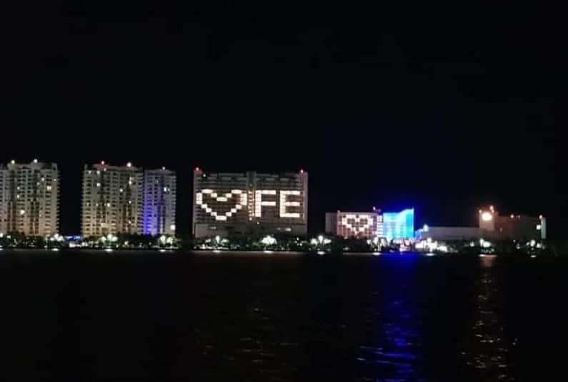 Hoteles de playa se sumaron a la iniciativa. Foto: Especial.