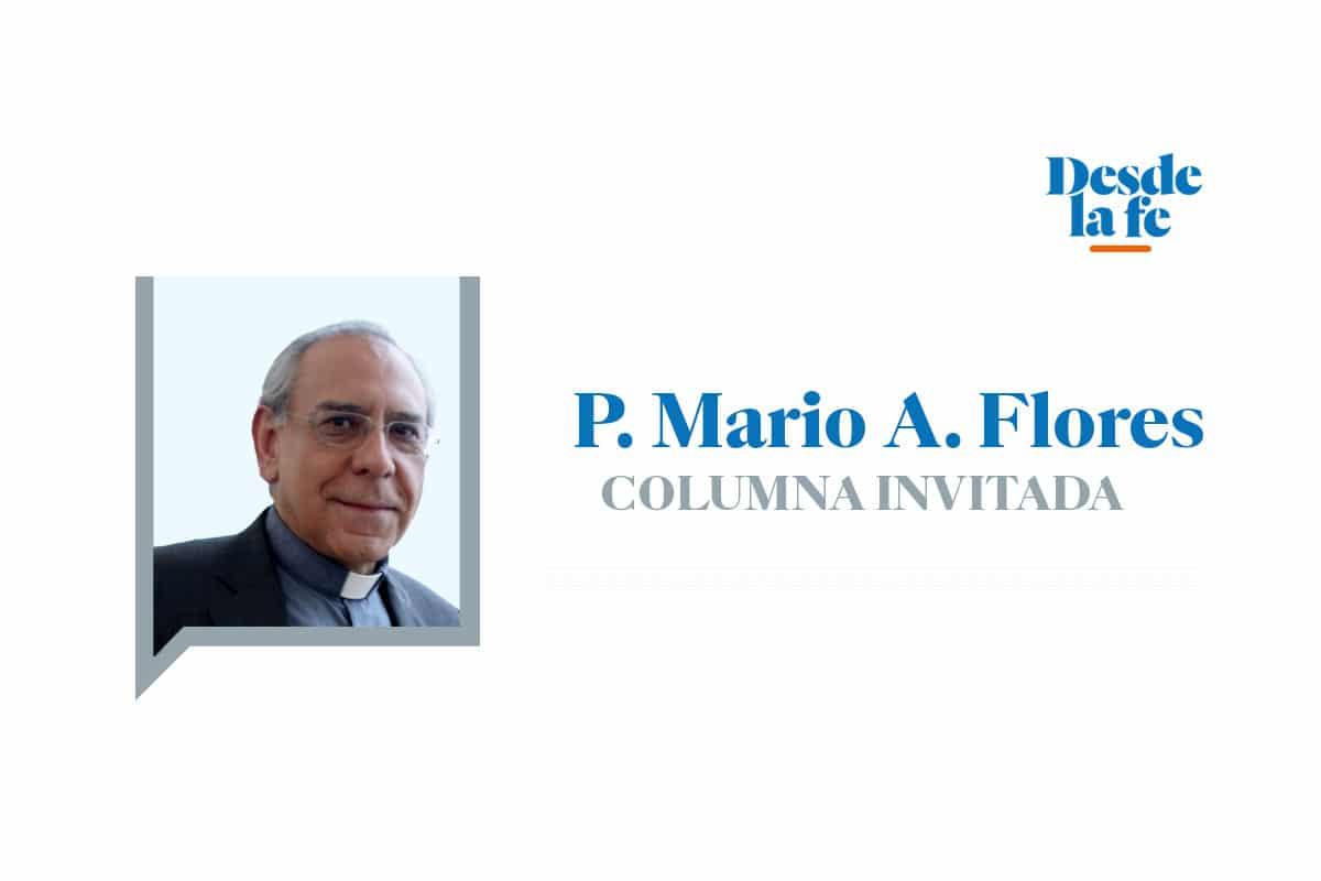Padre Mario Ángel Flores Ramos