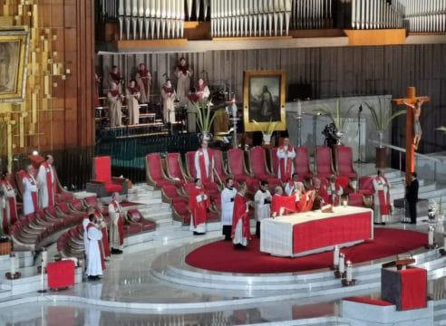 Homilía del Arzobispo Carlos Aguiar en el Domingo de Ramos