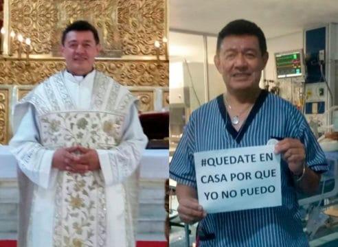 El médico 'con sotana' que atiende a niños en un hospital de Puebla
