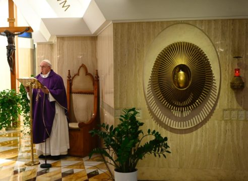 Papa Francisco: Pensemos en lo que vendrá después de la pandemia