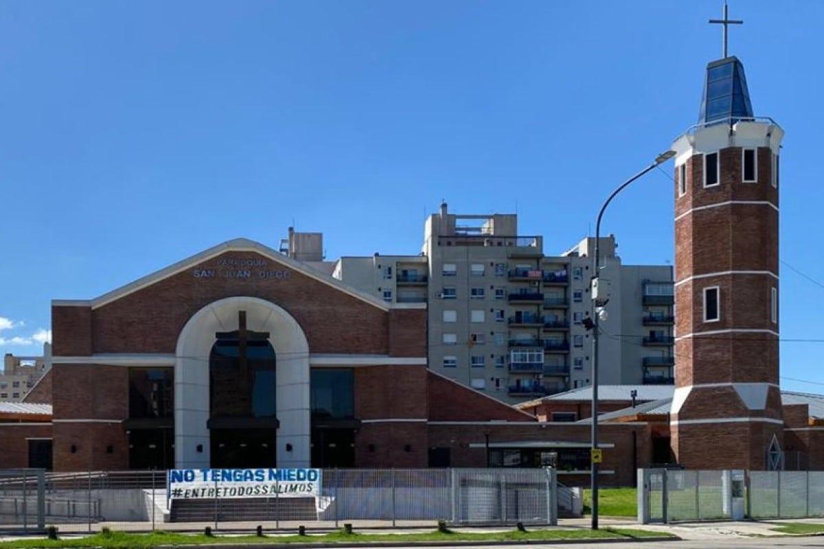 La Parroquia de San Juan Diego en Argentina. Foto: Tomada del Facebook de la parroquia.