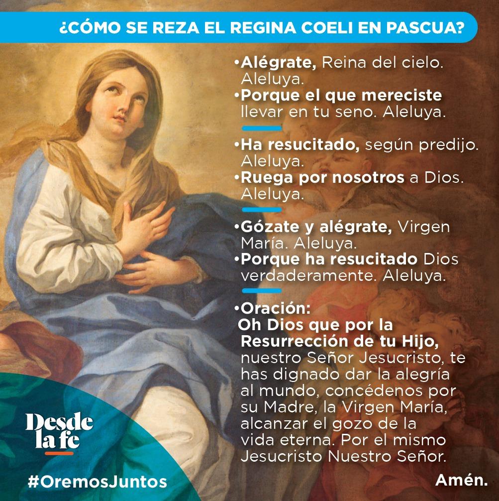 ¿Cómo rezar el Regina Coeli?