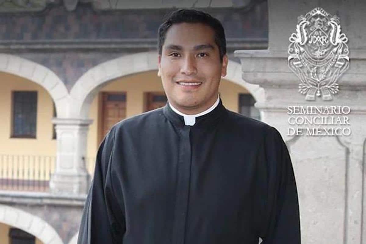 Sergio Zambrano, seminarista. Foto: Seminario Conciliar de México