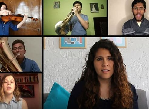 'Volveremos a empezar', una canción mexicana ante el coronavirus