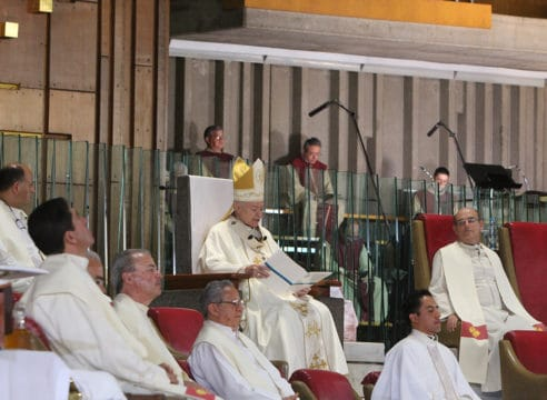 Homilía del Arzobispo Carlos Aguiar en el IV Domingo de Pascua