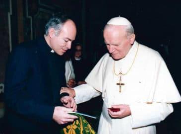 El amor por los jóvenes que san Juan Pablo II mostró a Carlos Aguiar