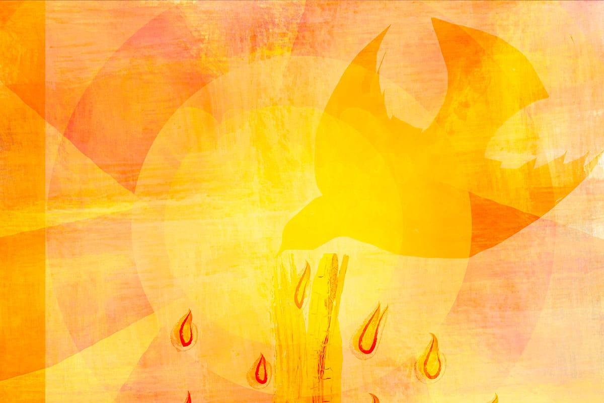 En Pentecostés recordamos la efusión del Espíritu Santo a los apóstoles.