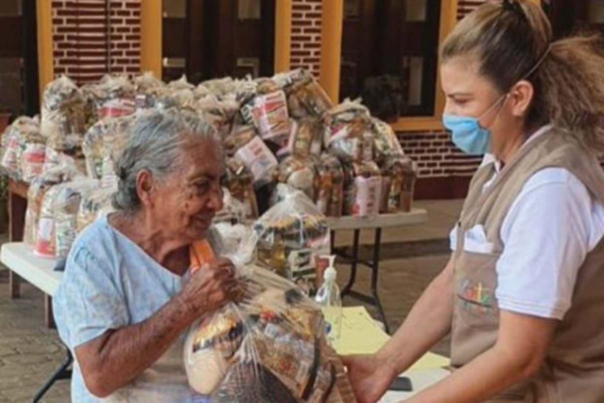 Familias sin hambre es impulsado por los Obispos de México y USEM. Foto: Cáritas.