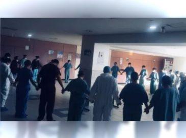 La fotografía que muestra la fe en un hospital COVID-19 de Tijuana