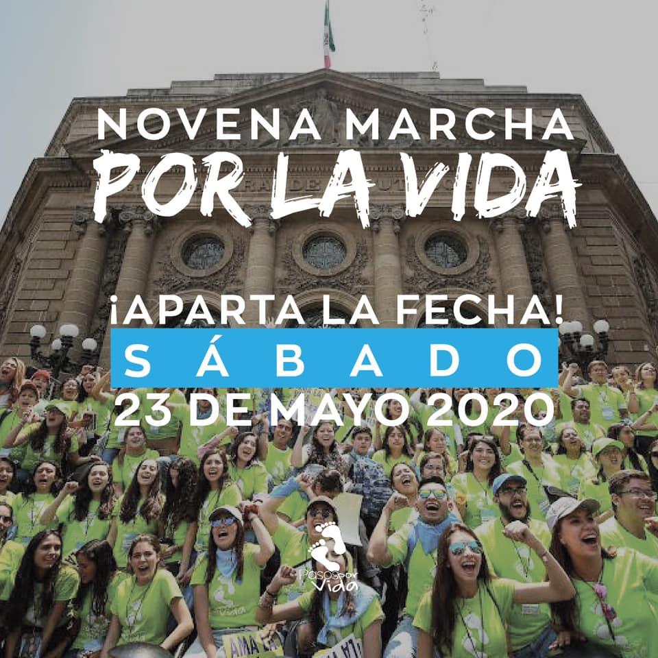 Novena Marcha por la Vida.