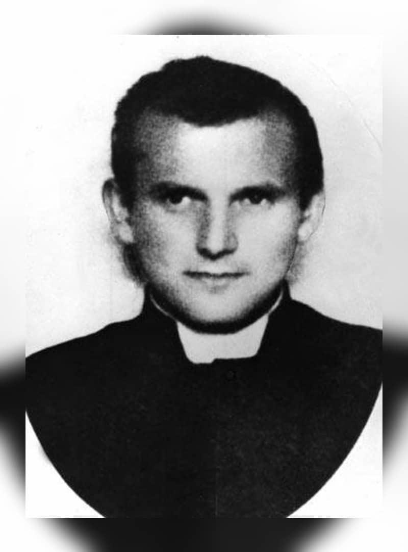 El padre Karol Józef Wojtyła.