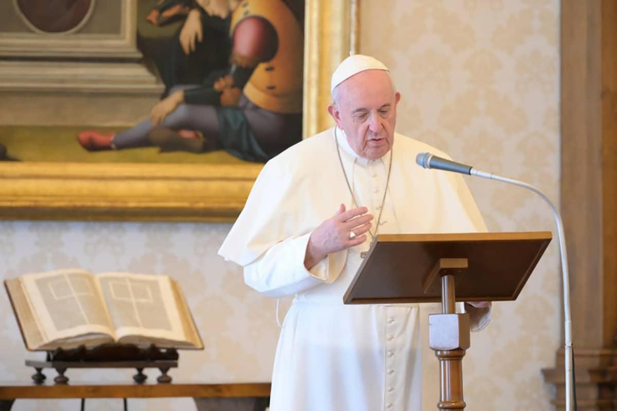 El Papa Francisco. Foto: Vatican Media.