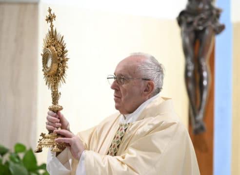 El Papa reza por los que quedaron sin trabajo a causa del coronavirus