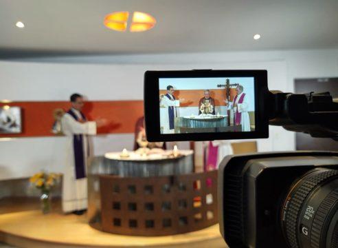 La Arquidiócesis de México celebra un año de Misas por internet