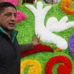 Las portadas florales de Iztacalco hacían estremecer al Papa Juan Pablo II