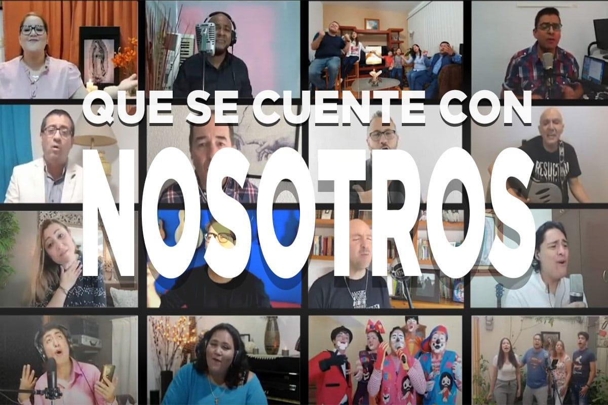 """Video """"Que se cuente con nosotros""""."""