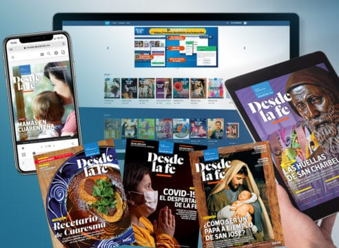 Cómo comprar o suscribirte a la revista digital Desde la fe