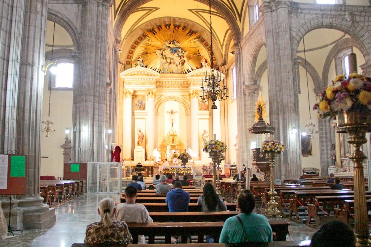 Sagrario Metropolitano. Foto: Alejandro García
