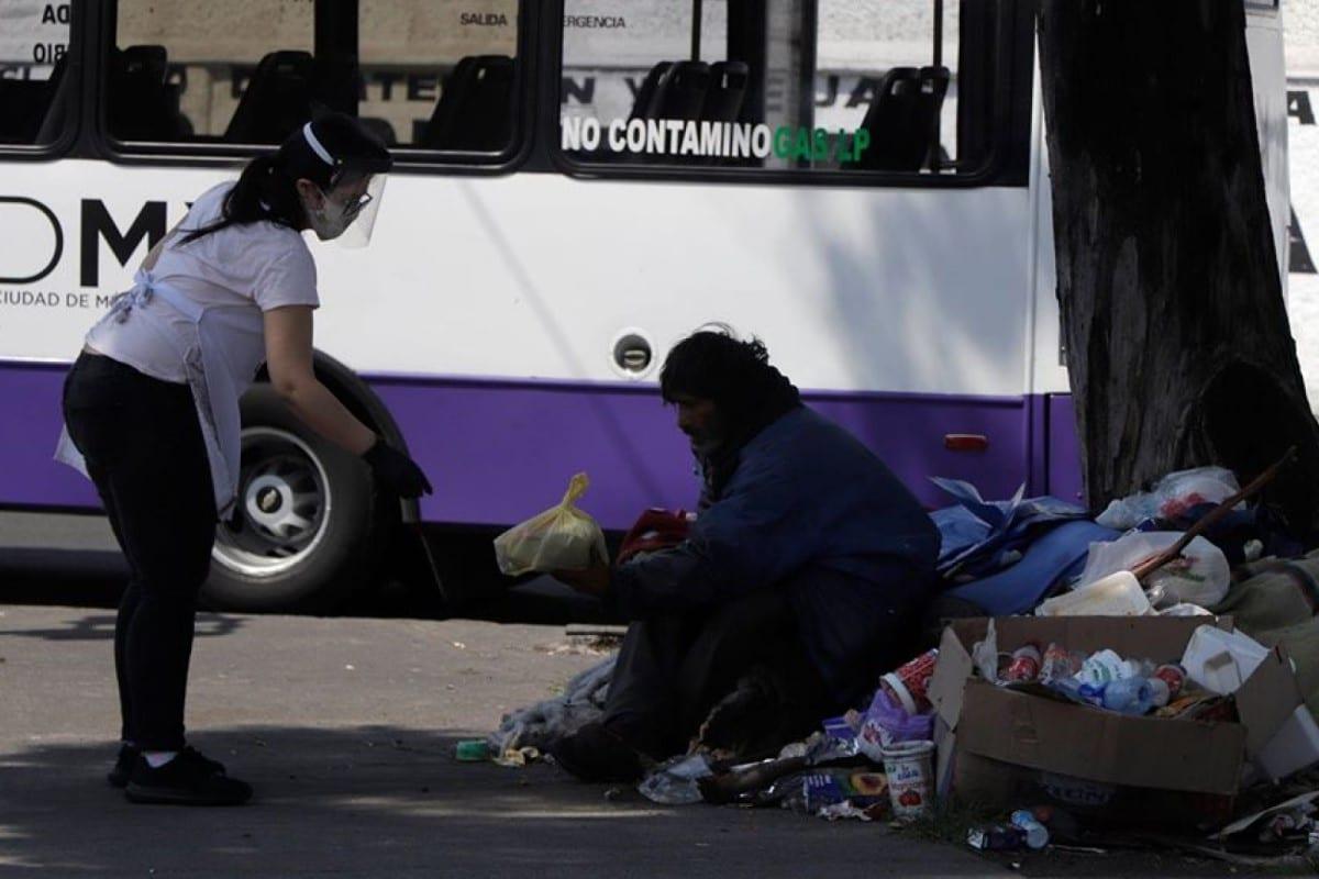La Comunidad de Sant´Egidio México no deja solas a las personas en pobreza. Foto Cortesía Sant´Egidio.