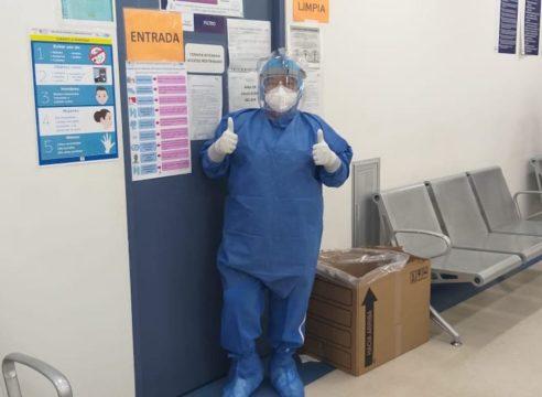"""Enfermera de COVID-19: """"sus oraciones nos dan esperanza"""""""